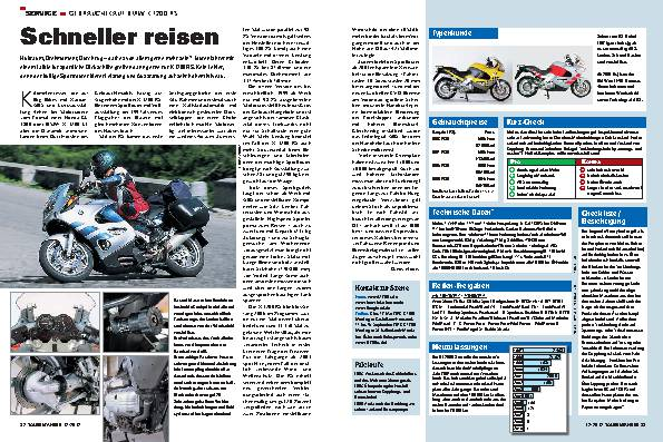 Gebrauchtkauf: BMW K 1200 RS