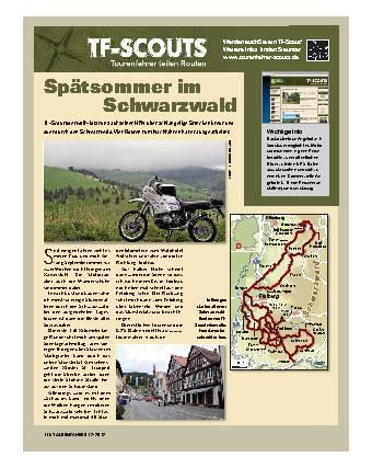 TF-Scouts - Spätsommer im Schwarzwald