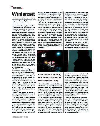 Glosse - Winterzeit