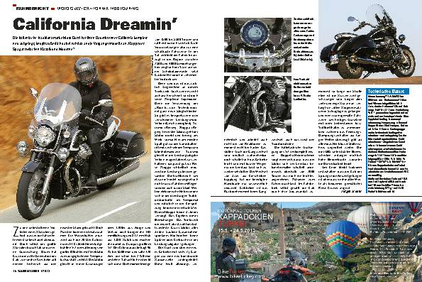 Fahrbericht: Moto Guzzi California 1400