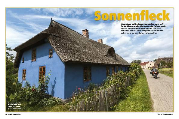 Deutschland: Usedom, Kleinod in der Ostsee - Sonnenfleck