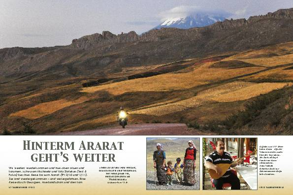 Kaukasus: Durch Georgien, Aserbaidschan und Iran – Hinterm Ararat geht's weiter