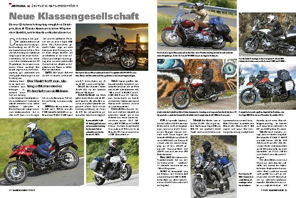 Aktuell - Übersicht 48-PS-Motorräder