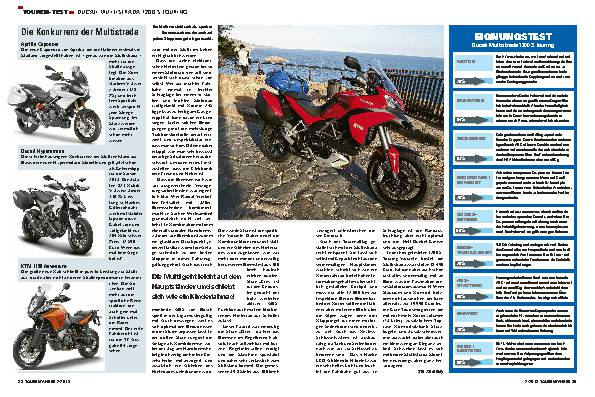 Touren-Test: Ducati Multistrada  1200 S Touring