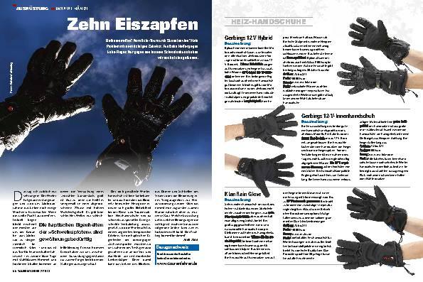 Ausrüstung: Alles für warme Hände
