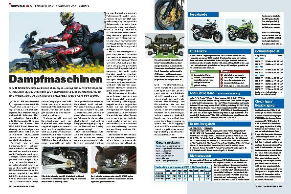 Gebrauchtkauf: Kawasaki ZRX 1200