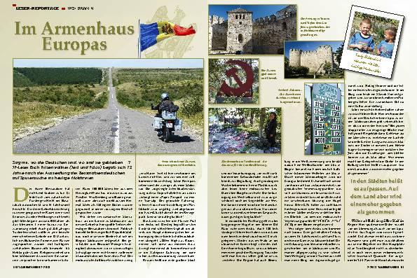 Moldawien: Auf der Suche nach deutschen Spuren – Im Armenhaus Europas