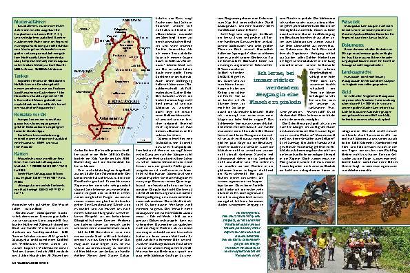 Madagaskar: Einzigartige Reise mit der neuen GS – Reif für die Insel