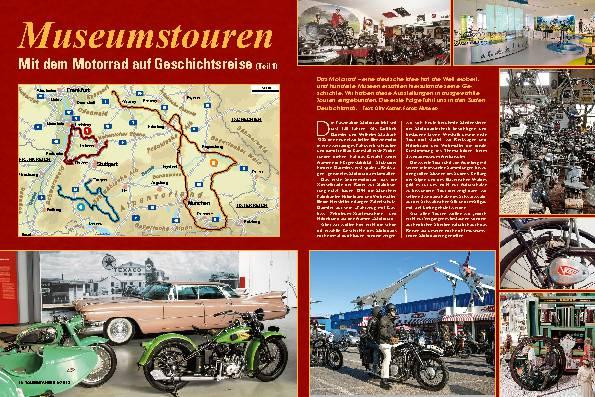 Mit dem Motorrad auf Geschichtsreise, Teil 1