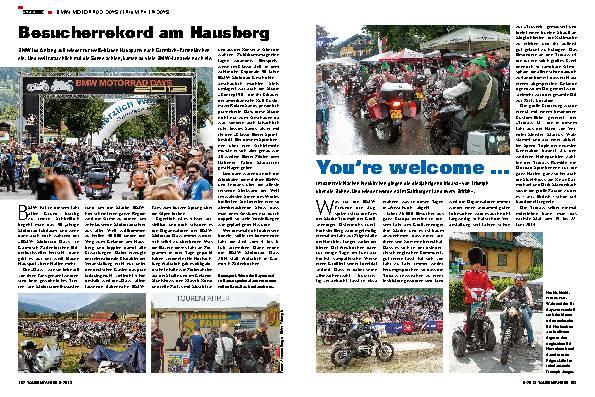 BMW Motorrad Days / Triumph Tridays