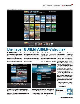 Die neue TOURENFAHRER-Videothek