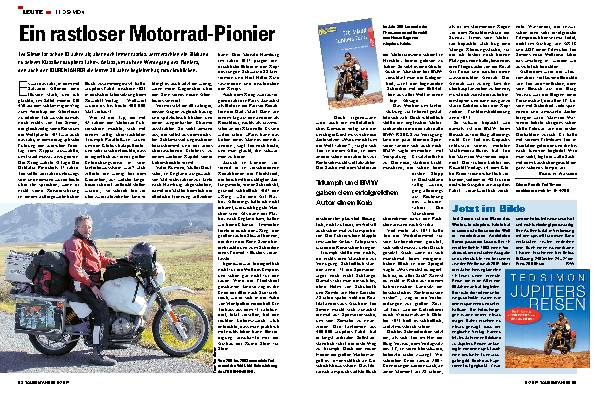 Ein rastloser Motorrad-Pionier