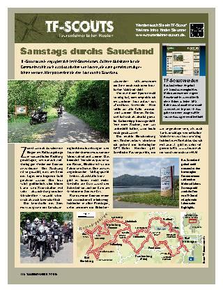 Samstags durchs Sauerland