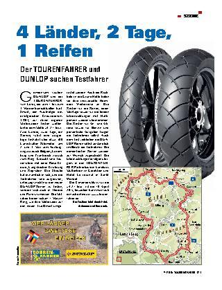 4 Länder, 2 Tage, 1 Reifen