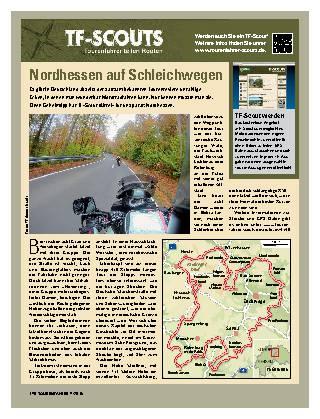 Nordhessen auf Schleichwegen