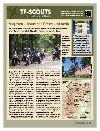 Vogesen – Route des Crêtes und mehr
