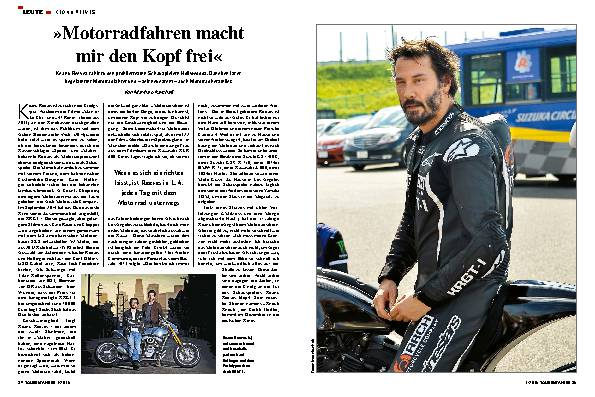 »Motorradfahren macht mir den Kopf frei«