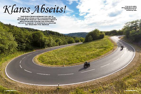 Klares Abseits