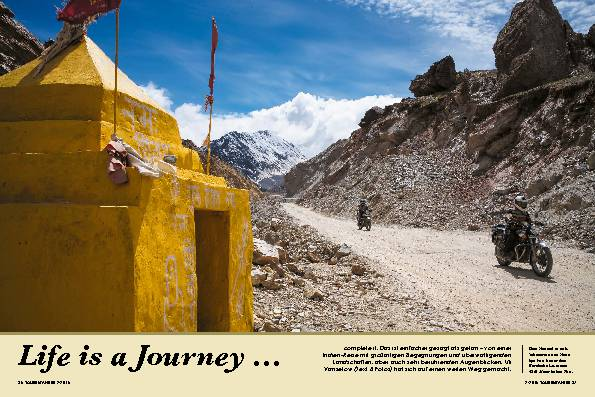 Life is a Journey ...