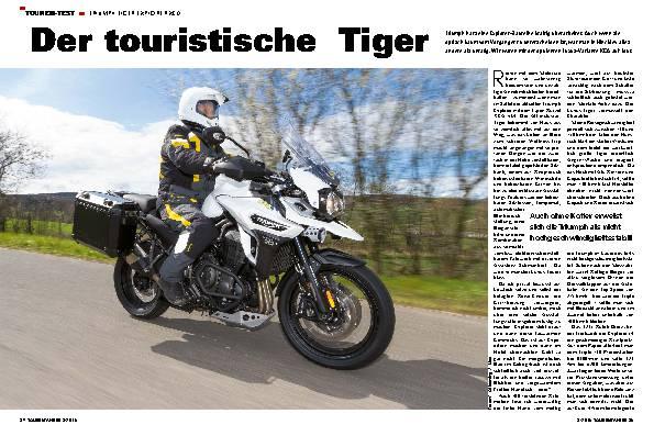Der touristische Tiger