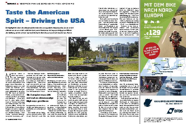 Taste the American Spirit – Driving the USA