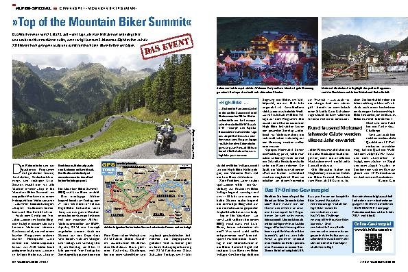»Top of the Mountain Biker Summit«