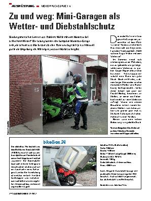Zu und weg: Mini-Garagen als Wetter- und Diebstahlschutz