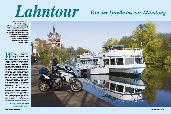 Lahntour - Von der Quelle bis zur Mündung