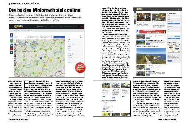 Die besten Motorradhotels online