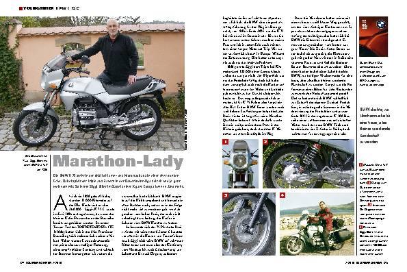 Marathon-Lady