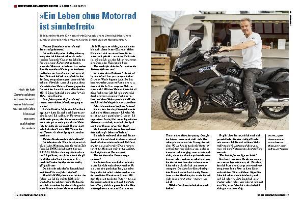 »Ein Leben ohne Motorrad ist sinnbefreit«