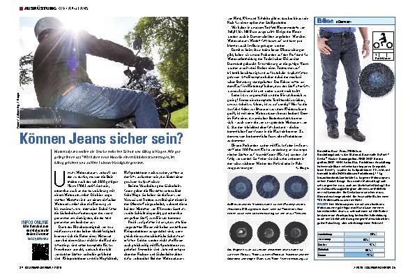 Können Jeans sicher sein?