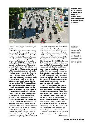 Motorradlärm und Fahrverbote