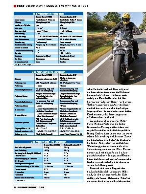 DUCATI DIAVEL 1260 S / TRIUMPH ROCKET 3 GT