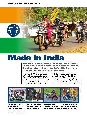 Motorradland Indien