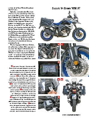 MOTO GUZZI V85 TT TRAVEL / SUZUKI V-STROM 1050 XT
