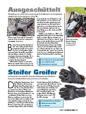 Wüstenkostüm, Ausgeschüttelt & Steifer Greifer